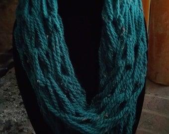 Turquoise Infinity Scarf-Reg