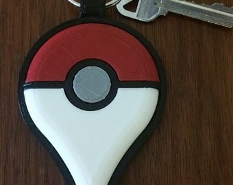 Pokemon Go Keychain, 3D printed, Backpack Zipper Pull