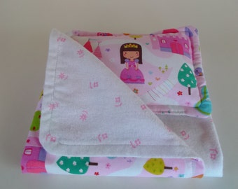 Doll Blanket and Pillow Set for 14, 15, 16 inch doll