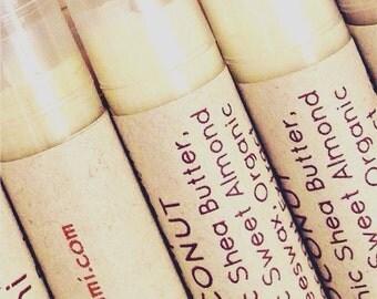 glossy lip balm