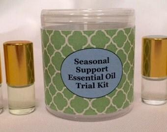 Seasonal Support Essential Oil Trial Kit