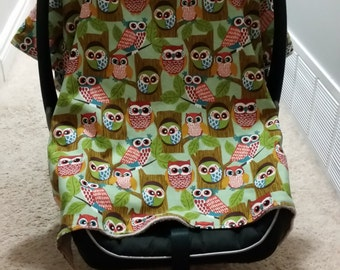 Custom Carseat canopy - carseat cover