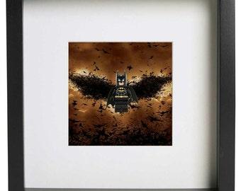 Gotham Superhero Frame