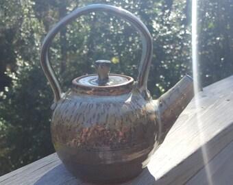 Hand Thrown Stoneware Teapot