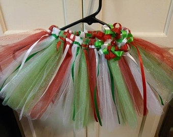 Holiday Tutu, Red Green White
