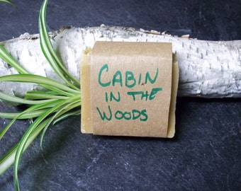Cabin in the Woods Handmade Soap