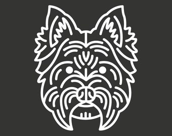 West Highland White Terrier Decal GD121