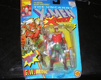 The Uncanny X-Men Figure G.W. Bridge 1992