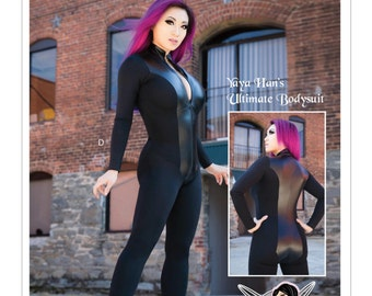 Sewing Pattern for Yaya Han's Ultimate Bodysuit Costume, McCall's Pattern 7217,YAYA HAN Design,Misses Halloween Costume, Cosplay, Plus Sizes