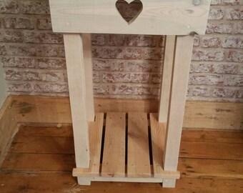 Handmade consol table