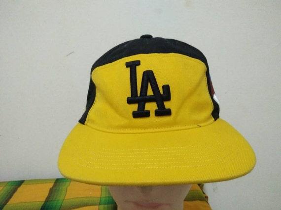 Rare Vintage LOS ANGELES DODGERS Cap Hat Free size fit all