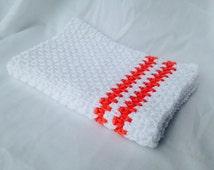 Crochet PATTERN - dish towel pattern, crochet kitchen towel pattern, crochet hand towel pattern, beginner crochet pattern, easy crochet pdf