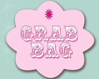 Grab Bag, Period Kit, Menstrual Pads, Mystery Colors, Washable Pads, Rosy Pads, Menstrual Care, RUMPS, Cloth Pads, Mama Cloth