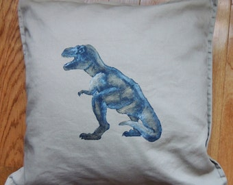 Hand Painted T rex - Tan