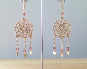 """Dream catcher"" earrings"