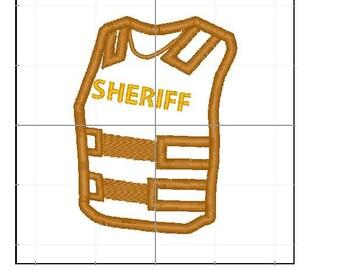 Kevlar Sheriff vest 4x4 5x7 6x10
