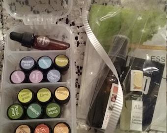 Travel or Purse essential  oil sampler