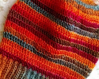 Surely Inspired Sunset Slouchy Hat