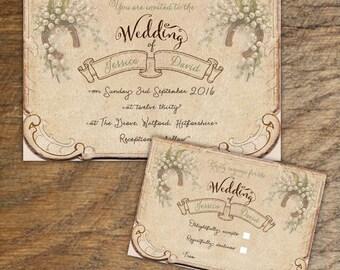 Wedding Invitations Etsy Uk