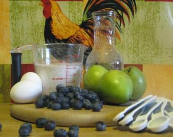 Pear Blueberry Dog Treats
