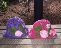 Crocheted Panama Hat
