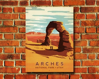 Arches National Park Poster - #0829