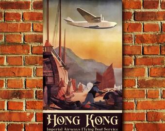 Hong Kong Travel Poster - #0603
