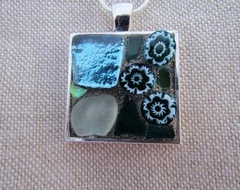 Mosaic art -  pendant