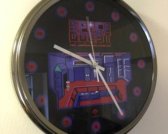 Space Quest I: The Sarien Encounter Custom Designed Wall Clock
