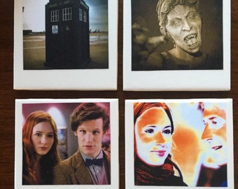 Doctor Who Drink Coasters