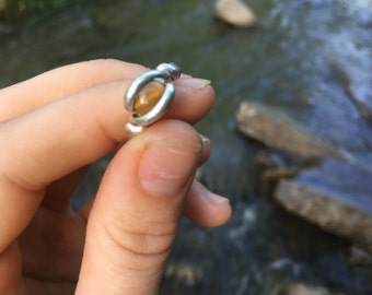 Tigers Eye Ring size 5.5