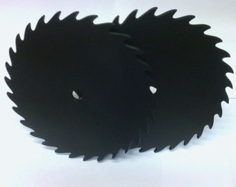 Plastic Saw Blades for clock making.  You get 2 per set.  Made in the USA