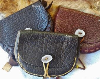 Mountain Man Bison Belt pouch / Possibles bag