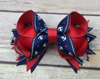 Anchor Boutique Style Bow