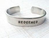 One Word Bracelet