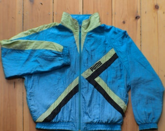 Puma shellsuit top vintage