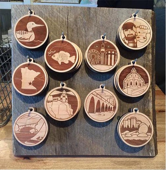 Minnesota Ornaments/Medallions
