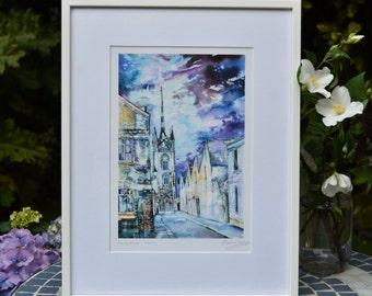Faversham picture, fine art print, artwork