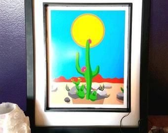 Idiosyncradeck Tarot Sun Card Art Print