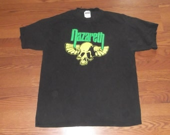 Nazareth Vintage Neon Band T-shirt X-Large