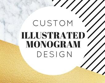 Hand Illustrated Monogram