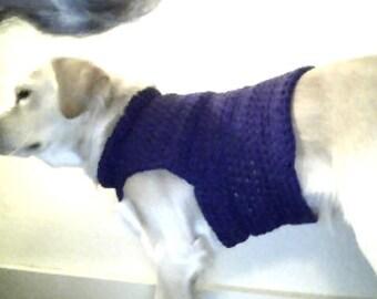 Hand crochet doggie sweaters