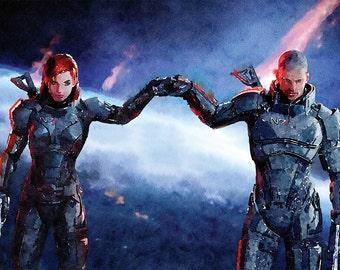 Mass Effect Art