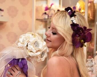 swarowski bridal bouquet