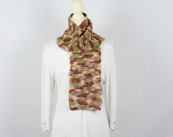 Crochet Scarf - Multi Color