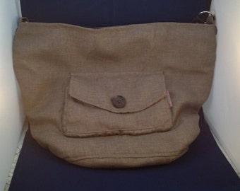 Handmade bag Brown