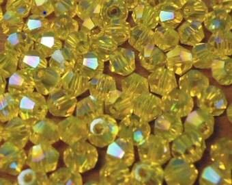 Titanium AB Color Bicones #443AB