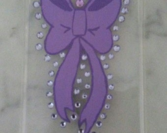 Bedazzled Bow Phone Case
