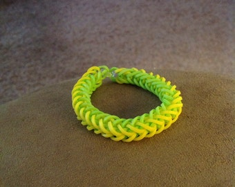 French braid loom bracelet
