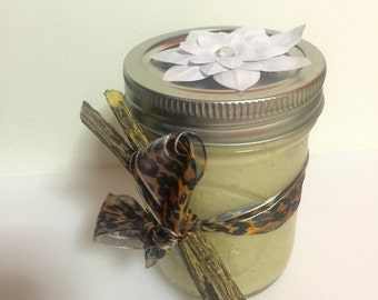 Ginger-Vanilla Whipped Body Butter